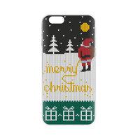 FLAVR kerst merry christmas santa claus case TPU hoesje iPhone 6 6s - Kleurrijk