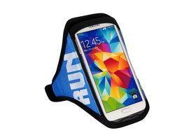 Sportband joggen universeel smartphone hardlopen - Blauw