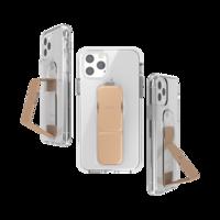 CLCKR grip case standaard valbestendig hoesje iPhone 11 Pro - Doorzichtig Roségoud