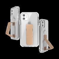 CLCKR grip case standaard valbestendig hoesje iPhone 11 - Doorzichtig Roségoud
