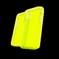 Gear4 Crystal Palace Neon Case Shockproof Hoesje iPhone 11 Pro - Geel