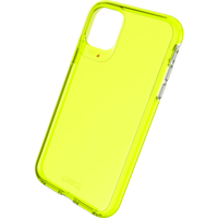 Gear4 Crystal Palace Neon Case Shockproof Hoesje iPhone 11 - Geel