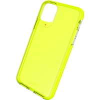 Gear4 Crystal Palace Neon Case Shockproof Hoesje iPhone 11 Pro Max - Geel