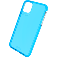 Gear4 Crystal Palace Neon Case Shockproof Hoesje iPhone 11 Pro Max - Blauw