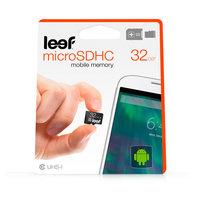 Leef microSD shockproof waterproof 32 GB - Zwart
