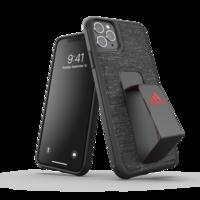 adidas grip case standaard valbestendig TPU hoesje iPhone 11 Pro Max - Zwart Rood