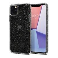 Spigen Liquid Crystal case beschermhoes dun TPU iPhone 11 Pro Max - Transparant Glitter