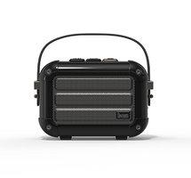 Divoom Macchiato draadloze speaker bluetooth luidspreker radio - Zwart