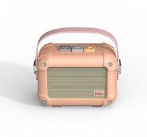 Divoom Macchiato draadloze speaker bluetooth luidspreker radio - Lichtroze