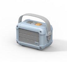 Divoom Macchiato draadloze speaker bluetooth luidspreker radio - Lichtblauw