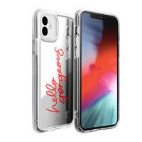 Laut spiegel hello gorgeous hoesje mirror case iPhone 11 - Zilver