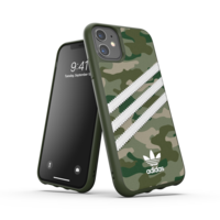 adidas Moulded Case camouflage iPhone 11 - Groen