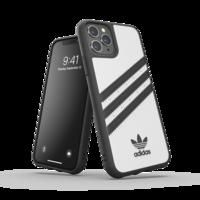 adidas Moulded case strepen beschermhoesje iPhone 11 Pro - Wit Zwart