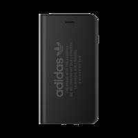 adidas bookcase simpel iPhone 7 Plus 8 Plus - Zwart