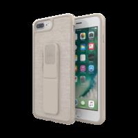 adidas grip case standaard valbestendig TPU hoesje iPhone 6 Plus 6s Plus 7 Plus 8 Plus - Beige