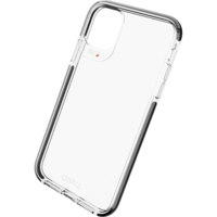 Gear4 Piccadilly case bescherming iPhone 11 hoesje - transparant black