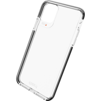 Gear4 Piccadilly case bescherming iPhone 11 Pro Max hoesje - transparant black