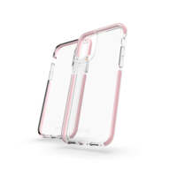 Gear4 Piccadilly case bescherming iPhone 11 hoesje - transparant rose goud gold