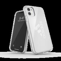 adidas beschermcase groot performancelogo iPhone 11 - Transparant