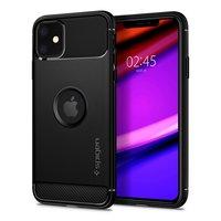 Spigen Armor case beschermhoesje schokbestendig iPhone 11 - Zwart