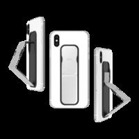 CLCKR universeel vinger grip glimmend band smartphone metallic - Zilver