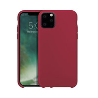 Xqisit silicone cover beschermhoes iPhone 11 Pro - Rood