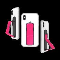 CLCKR universeel vinger grip neon band smartphone - Roze