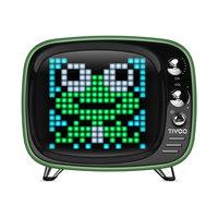 Divoom Tivoo speaker compact bluetooth pixel art LED - Groen