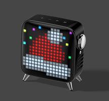 Divoom Tivoo speaker max bluetooth pixel art LED - Zwart