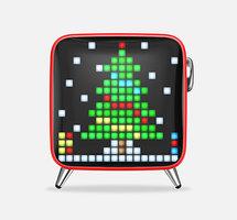 Divoom Tivoo speaker max bluetooth pixel art LED - Rood