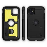 Spigen Tough Armor case bescherming iPhone 11 hoesje - zwart