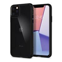 Spigen hoesje hardcase TPU bumper hoesje iPhone 11 Pro Max - Zwart