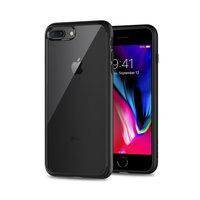 Spigen hoesje hardcase TPU bumper hoesje iPhone 7 8 SE 2020 - Zwart
