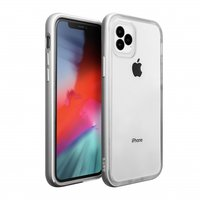 Laut Exoframe case bumper shockproof cover iPhone 11 Pro Max - Zilver