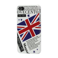 iPhone 4/4s Britse Engelse vlag flag krant magazine hoesje case Ovecento