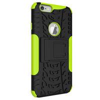 Shockproof bescherming hoesje iPhone 6 6s case - Groen