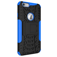 Shockproof bescherming hoesje iPhone 6 6s case - Blauw