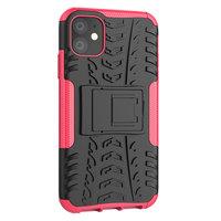 Shockproof bescherming hoesje iPhone 11 case - Roze goud