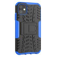 Shockproof bescherming hoesje iPhone 11 case - Blauw