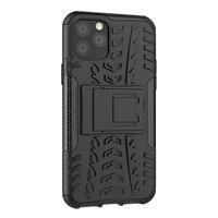Shockproof bescherming hoesje iPhone 11 Pro case - Zwart