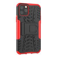 Shockproof bescherming hoesje iPhone 11 Pro case - Rood