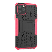 Shockproof bescherming hoesje iPhone 11 Pro case - Roze goud