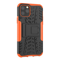 Shockproof bescherming hoesje iPhone 11 Pro case - Oranje