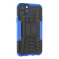 Shockproof bescherming hoesje iPhone 11 Pro case - Blauw