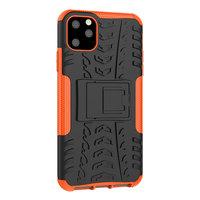 Shockproof bescherming hoesje iPhone 11 Pro Max case - Oranje