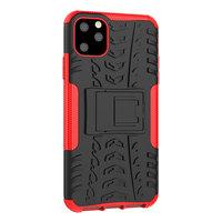 Shockproof bescherming hoesje iPhone 11 Pro Max case - Rood