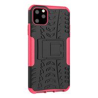Shockproof bescherming hoesje iPhone 11 Pro Max case - Roze goud