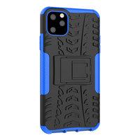 Shockproof bescherming hoesje iPhone 11 Pro Max case - Blauw