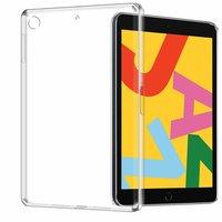 Case Hoes TPU iPad 10.2 inch - Transparant Doorzichtig