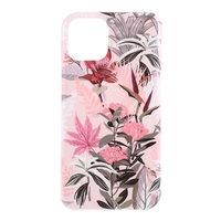 Hoesje Case Bloesem Bloemen Flowers Natuur TPU Flexibel Schokabsorberend voor iPhone 11 - Roze